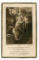 Image Pieuse : Famille Hamard Suzanne Pensionnat  Le Mans  1918  Communion  VOIR  DESCRIPTIF  §§§ - Devotion Images