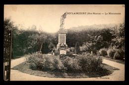 52 - DOULAINCOURT - LE MONUMENT AUX MORTS - Doulaincourt