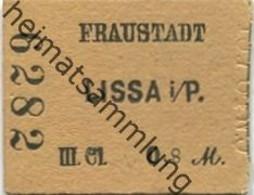Polen - Fraustadt - Lissa I. P. Fahrkarte III. Cl 0,8 M. 10.7.84 - Europa