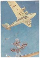 1939 QUADRIMOTORE SAVOIA MARCHETTI - ILL. GABARDI - 1939-1945: 2ème Guerre