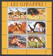 TT639 2003 ANIMALS GIRAFFES ROTARY 1KB MNH - Giraffes