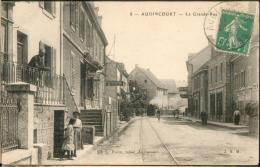 Audincourt  La Grande Rue (train Dns Le Fond) - Other Municipalities