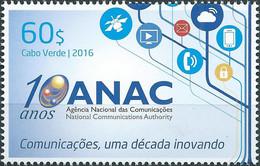 Cabo Verde Cape Verde ANAC 2016 Zegel  MNH - Cape Verde