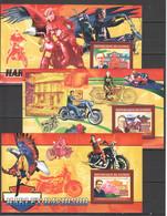 XX365 2006 REPUBLIQUE DE GUINEE TRANSPORT MOTORCYCLES HARLEY DAVIDSON 3BL MNH - Motorbikes