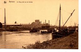 Berlaere: De Brug -zicht Op De Schelde (binnenschip- Péniche) - Berlare
