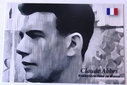 Claude ABBES - Dédicace - Hand Signed - Autographe Authentique - Fútbol