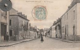 53 - Carte Postale Ancienne De Bazougers   Rue Saint Georges - Autres Communes