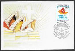 2008 Wallis Et Futuna N° Maxicard . Journée Mondiale De La Jeunesse. 06 Novembre 2008. - Maximum Cards