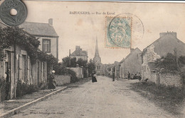 53 - Carte Postale Ancienne De Bazougers   Rue De Laval - Autres Communes