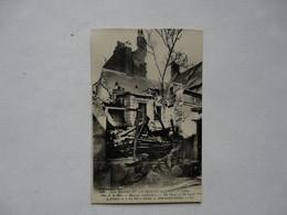 CPA 62 PAS DE CALAIS - CALAIS : Les Ruines De La Grande Guerre - Rue De La Mer - Calais