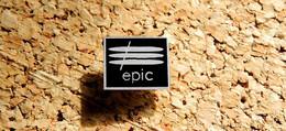 Pin's MUSIQUE - Label Discographique EPIC - EMAIL - Fabricant DEMONS & MERVEILLES - Music