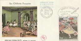 Les Célébrités Françaises  -  DEGAS   -  1er Jour D'émission - 1961-....