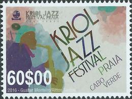 Cabo Verde Cape Verde KRIOL Jazz FESTIVAL 2016 Zegel MNH - Cape Verde