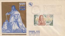 Louis XIV à Versailles   -  1er Jour D'émission - 1961-....