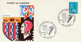 CLICHY LA GARENNE  - 30e Anniversaire De La Société Philatélique  -  1er Jour D'émission - 1961-....