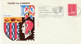 CLICHY LA GARENNE  - 30e Anniversaire De La Société Philatélique  - - 1961-....