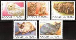 RUSSIE/RUSSIA/RUSSLAND/ROSJA 1996 MI.485-89 ** ,ZAG.266-70,YVERT. - Unused Stamps
