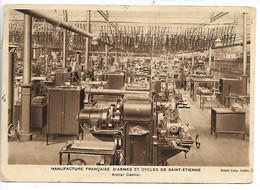 ST ETIENNE Loire Sur Cpa Manufacture Atelier Central CAD Manuel ST ETIENNE RP Bis MANUFACTURE 1935           .G - 1921-1960: Moderne