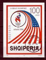 Albanie Blok Mi 108 Olympische Spelen 1996  Gestempeld - Albania
