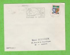 ILE DE LA REUNION - FLAMME LE TAMPON PLATEFORME DU TOURISME DE 1966 - Mechanical Postmarks (Advertisement)