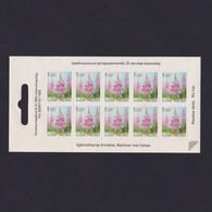 FINLAND 1992, Mi# 1129, Rosebay Willowherb, Plants, Booklet Pane, Self Adhesive - Ungebraucht