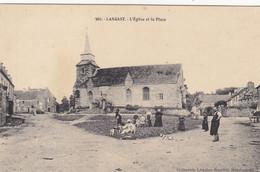 22 - LANGAST : La Place - Peu Courant. - Otros Municipios