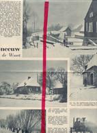 Orig. Knipsel Coupure Tijdschrift Magazine - Weert , Bornem , In De Sneeuw - 1939 - Unclassified