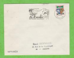ILE DE LA REUNION - FLAMME  ST PIERRE CILAOS SES THERMES SES CIRQUES GRANDIOSES DE 1966 - Mechanical Postmarks (Advertisement)
