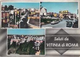 VITINIA-ROMA-SALUTI DA..MULTIVEDUTE-CARTOLINA VERA FOTOGRAFIA-VIAGGIATA IL18-10-1962 - Other