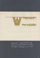 Wiener Werkstätte Entwurf Eines Werbeblattes Vor Dem Endgültigen Druck Um 1910 I-II - Sin Clasificación
