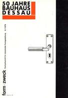 Bauhaus Dessau Zeitschrift Form U. Zweck Fachzeitschrift Für Industrielle Formgestaltung 6/1976 Sehr Viele Abbildungen I - Sin Clasificación