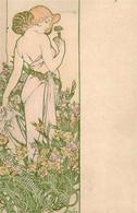 Mucha, A. Frau  II- (beschnitten) - Mucha, Alphonse