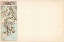 Mucha, Alfons Winter I-II - Mucha, Alphonse