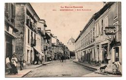 MONTREJEAU RUE NATIONALE TABAC COMMERCES TRES ANIMEE - Montréjeau