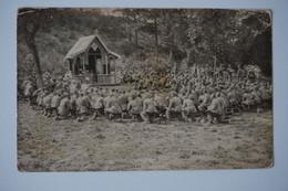 AK: Gottesdienst / Infanterie-Regiment Nr. 116 / 26.06.1916 Nach Ilbenstadt Hessen - Guerre 1914-18