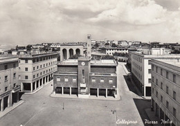 COLLEFERRO-ROMA-PIAZZA ITALIA-CARTOLINA VERA FOTOGRAFIA- VIAGGIATA NEL 1955 - Other