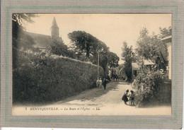 CPA - (14) HENNEQUEVILLE - Aspect De L'entrée Du Bourg Par La Route De L'Eglise Dans Les Années 20 - Other Municipalities