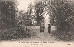 91 Ris Orangis Maison De Retraite Des Artistes Lyriques Sous Bois Le Parc - Ris Orangis