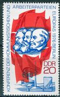 DDR - Mi 2146 ✶✶ - 20Pf      Konferenz Der Arbeiterparteien - Neufs