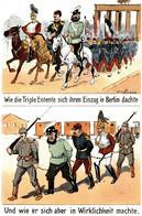 CPA - WW1 WWI Propaganda Propagande - HOFFMANN - Umoristica Satirica, Humour Satirique - NV - PV558 - Oorlog 1914-18