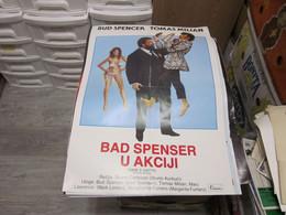 Cane E Gatto Bud Spencer Tomas Milian  50x70 Cm - Affiches & Posters