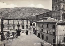 GENAZZANO-ROMA-PIAZZA G.EMIILIO D'AMICO-CARTOLINA VERA FOTOGRAFIA-VIAGGIATA NEL 1956 - Other