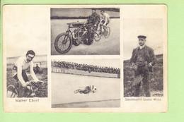 CYCLISME - Walter EBERT - Schrittmacher Gustav Weiss - 4 Vues - 2 Scans - Wielrennen