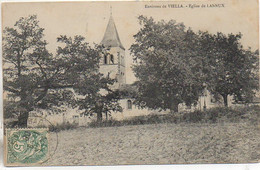 32 Environs De VIELLA  - Eglise De LANNUX - Other Municipalities