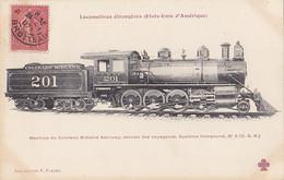 Trains (Chemins De Fer) - Locomotives étrangères - Etats Unis D'Amérique - 3 - Eisenbahnen
