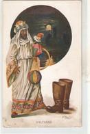 """J. Ibañez. Rey Mago Baltasar Wise Man With Present For Children"" Vintage Spanish Postcard - Other Illustrators"