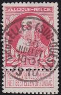 Belgie   .   OBP  .   74    .    Bruxelles        .    O     .    Gebruikt       .  /  .    Oblitéré - 1905 Thick Beard