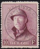 Belgie   .   OBP  .    178   .   Conferentie Spa        .    O     .    Gebruikt       .  /  .    Oblitéré - 1919-1920  Re Con Casco