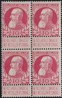 Belgie   .   OBP  .   74 Blok 4r      .   *   / **    .   2 Zegel Postfris - 1905 Thick Beard