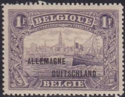 Belgie   .   OBP  .    OC 51a  .  Bruin-violet      .   *       .   Ongebruikt Met Gom      .  /  .   Neuf  Avec Gomme - [OC38/54] Occ. Belg. In Ger.